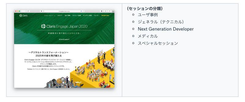 Claris Engage Japan 2020