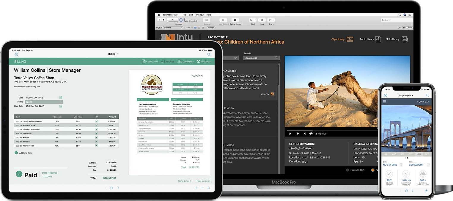 Claris FileMaker Pro Advanced 破解版 强大的数据库自定义软件